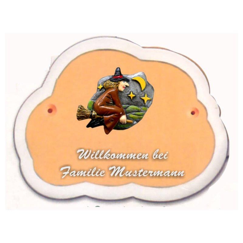Decoramic Wolkentraum 624 Toskana Motiv Hexe Besen Gosling Pokale U