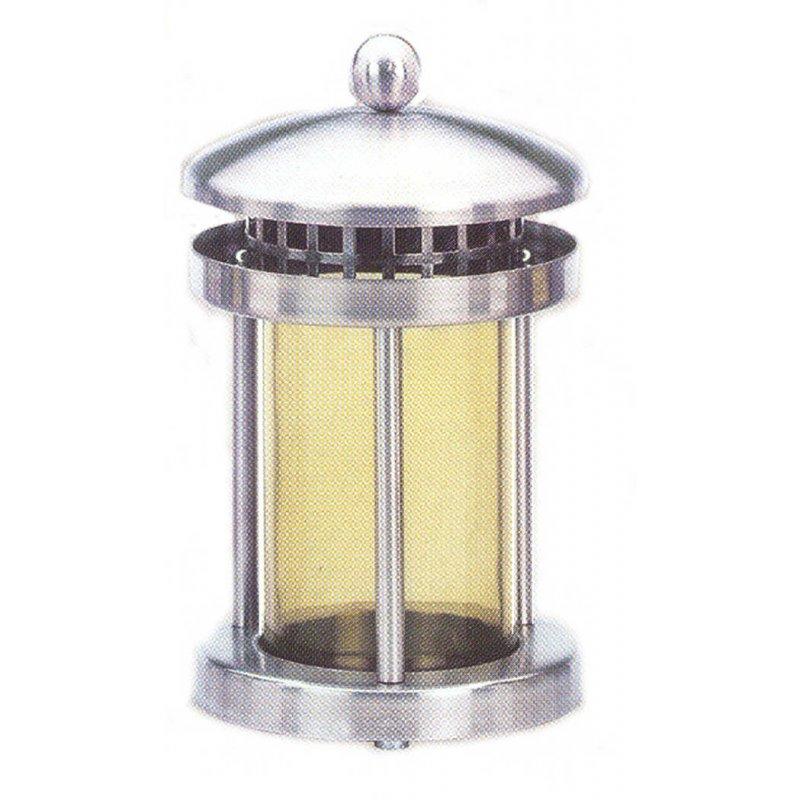 Kuchengitter Rund Edelstahl ~ grableuchte, grablaterne edelstahl rund, 4 streben, viel vom glas