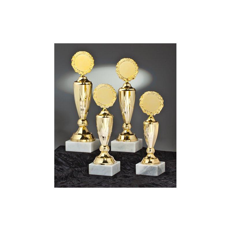Serie Mia mit 4 Pokalen gold, Gosling Pokale und Trophäen