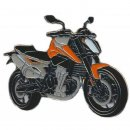Anstecker / Pin AS KTM Duke 790 Mod. 2018 orange