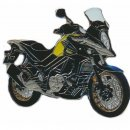 Anstecker / Pin AS SUZUKI DL 650 V-Strom XT gelb