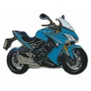 Anstecker / Pin AS SUZUKI GSX 1000 F blau 2015