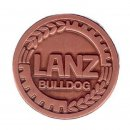 AS Lanz Bulldog Logo Kupferfarbe