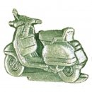 AS PIAGGIO Vespa Roller silber Relief*