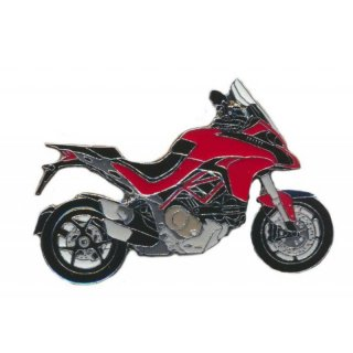 Anstecker / Pin AS DUCATI Multistrada 1200 rot Mod.2017