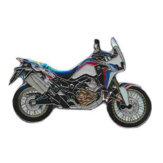 Anstecker / Pin AS HONDA Africa Twin tricolor 2019